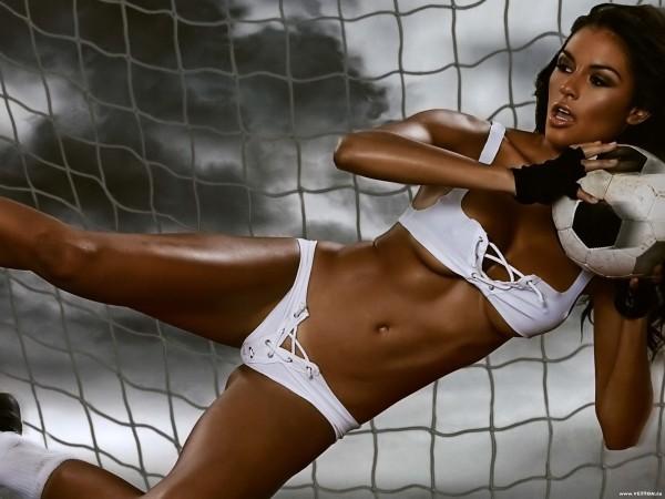 фото образ футболистки секси