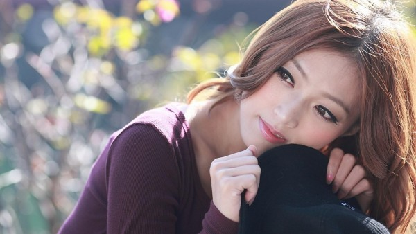 Азиатская девушка модель обои hd