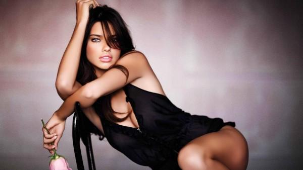 Адриана Лима, бразильская супермодель, Victoria's Secret, знаменитость, заставки, обои