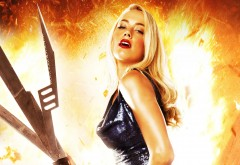 Постер Мачете убивает с Эмбер Херд (Amber Heard) обои