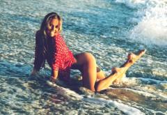 3200x2000, Голая попка, красотка на пляже фото