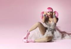 Nicki Minaj pink hair wallpapers high resolution