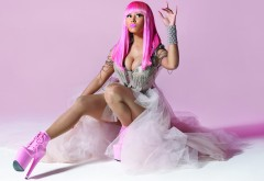 Nicki Minaj pink hair wallpaper high resolution hd
