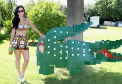 Кэти Перри певица с крокодилом скачать картинки на раб…