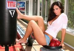 Девушка спортсменка картинки на рабочий стол