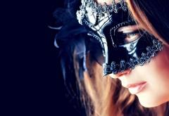 Девушка в черной маске картинки на рабочий стол