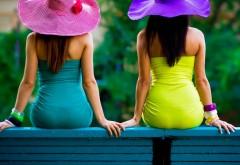 Фото летних девушек в шляпах