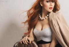 Бюст рыжей девушки модель картинки бесплатно