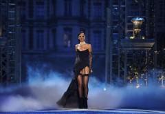 Фото певицы Рианны в черном вечернем платье обои на ст�…