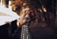 Портрет, платье, боке, Karen Abramyan, фото
