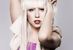Леди Гага широкоформатные обои